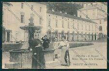 Biella Oropa cartolina QQ6468
