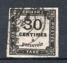 "FRANCE STAMP TIMBRE TAXE N° 6 "" CHIFFRE TAXE 30c NOIR "" OBLITERE TB SIGNE  P569"