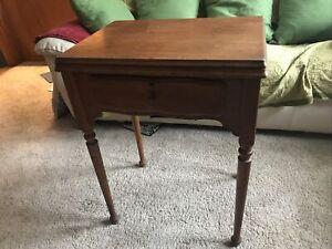 Vintage Singer Sewing Machine #56 Cabinet , fits 201-2, 15-91, 66