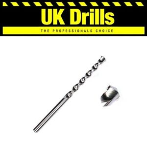 1 x MASONRY DRILL BIT | NICKEL PLATED | TOP QUALITY! ALL SIZES & LENGTHS LISTED