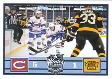 16/17 PANINI NHL STICKER WINTER CLASSIC CANADIENS BRUINS #431 CHARA *24628