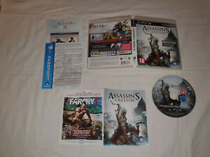 jeu sony playstation 3 ps3 occasion ASSASSIN S CREED 3 III