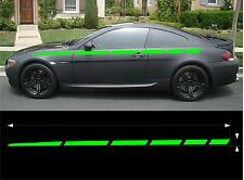 "VINYL GRAPHICS DECAL FULL BODY STRIPE KIT HOOD ROOF TRUNK 6STP-21 15/"" X 60/"""