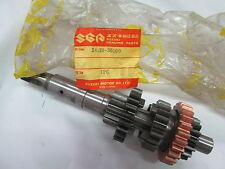 Suzuki GT185 TS185  nos countershaft assy 1971-1977  24120-36100