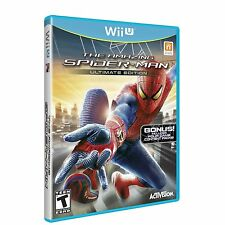 Nuovo The Amazing Spider-Man Spiderman (Nintendo Wii U, 2013) Formato Ntsc