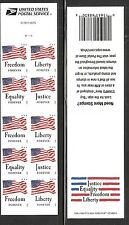 2012 4676b Four Flags Foreve V1111 (AVR) Booklet of 10 with 4673-4676