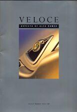 Alfa Romeo Veloce magazine Volume 4 Number 2 Winter 1998 UK market brochure