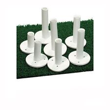 "Dura Rubber Golf Tees - 5 Pack - 2"" Height - Driving Range Mat Tees"