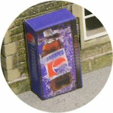 OO SCALE GAUGE PEPSI COLD DRINK VENDING MACHINE FOR HORNBY MODEL RAILWAY STATION