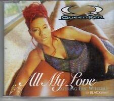 (CK824) Queen Pen ft Eric Williams, All My Love - 1997 CD
