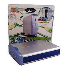 Sumvision E807 13.3cm USB 2.0 externa Caja/Caliente Intercambio / CD DVD / PLATA