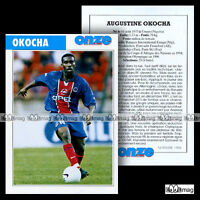 OKOCHA AUGUSTINE (PARIS SAINT-GERMAIN, PSG) - Fiche Football 1998