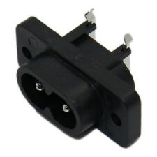 4300.0097 Connector AC mains IEC 60320 C8 EURO socket male 2.5A SCHURTER