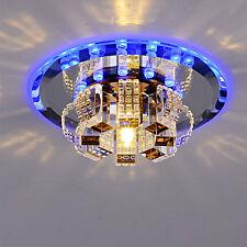 Modern Crystal LED Ceiling Light Pendant Lamp Fixture Lighting Aisle Hallway