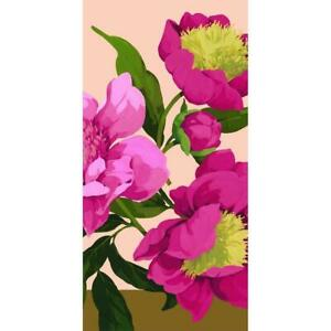 Spring Peonies Pink Peony Flower Floral Garden Party Decoration Tablecover