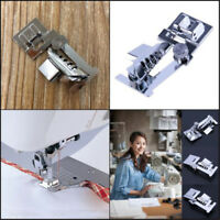 Rolled Hem Presser Foot Set for Singer Janome Sewing Domestic Machine Part*To Gy