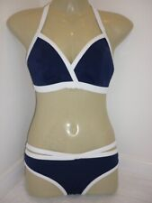 Freya 'In the Navy' bikini  Set 32E/M NEW Fantasie