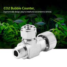 Aquarium System CO2 Regulator Needle Check Valve Bubble Counter Fish Tank Parts