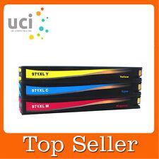 3cmy Non-OEM Ink for HP 970XL 971XL Officejet Pro X451dn X451dw X551dw X576dw