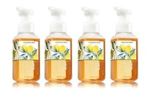 Bath & Body Works Lemon Cucumber Gentle Foaming Hand Soap w Ginseng - Lot of 4