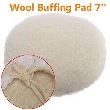 7 inch 180mm Soft Wool Car Detailing Polishing Buffer Polisher Bonnet pad w/loop