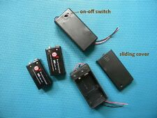 True 9.6V NiMH precharged battery 2-pcs low self discharge with battery holders