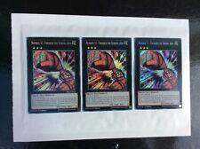 Yugioh X3 NUMBER 51: FINISHER THE STRONG ARM DRL3-EN024 SECRET RARE 1ST EDITION