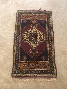 Turkish Red Rug,Anatolian Rug ,Bohemian,Vintage rug, Oushak Area Rug  23 X  40