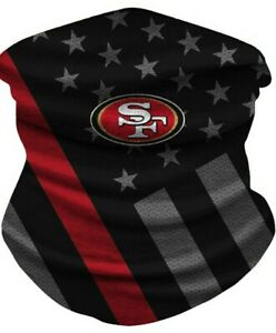 San Francisco 49ers Ice Silk Neck Gaiter Face Covering