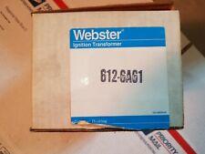 Webster  612-6A61 Ignition transformer
