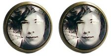 One Direction Earrings Harry Styles Black and White Cool One D 1D Accessories
