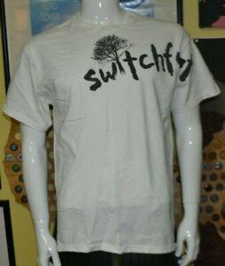 VTG Switchfoot Offset Logo Band T Shirt Large Nothing Is Sound Alt Hard Rock