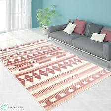 Teppich Modern Designer Wohnzimmer Inspiration Else ZickZack Pastel Rosa Blau