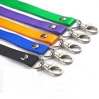 Neck Strap Lanyard Safety Breakaway For ID Name Badge Holder Keys Metal Clip HP