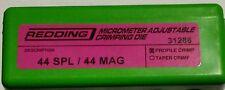 31286 REDDING MICRO-ADJUSTABLE PROFILE CRIMP DIE - 44 SPL / MAGNUM - BRAND NEW