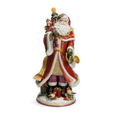 Fitz & Floyd Regal Holiday Santa Figurine