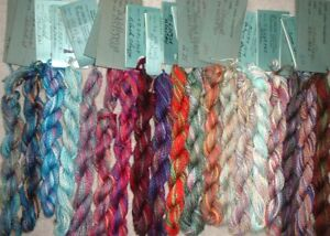 Caron Watercolours 3ply Hand Painted Pima Cotton Floss Thread Lot of 19 Sk ~ MZC