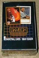 1990-91 SKYBOX BASKETBALL SERIES 1 FACTORY SEALED UNOPENED BOX (36 Packs)