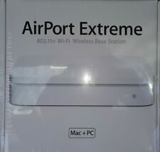 NEW Apple MB053LL/A 3-Port Gigabit Wireless N Router Model A1143 FREE SHIPPING
