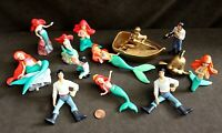 Disney Figure Collection: LITTLE MERMAID Figurine Lot - Prince Eric & Flounder
