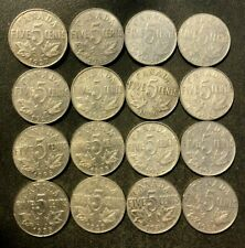Old Canada Coin Lot - 1922-1936 - KING GEORGE V Nickels - 16 Coins - Lot #O17