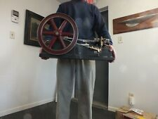 Antique Horizontal Steam Engine