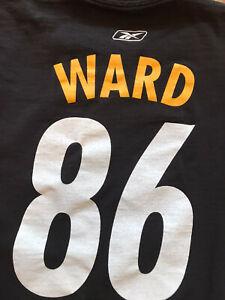 Pittsburgh Steelers REEBOK t-shirt, Adult Medium, HINES WARD #86 NFL