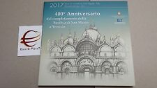 2017 coffret BU 9 pcs 5,88 EURO ITALIE ITALIA 2 € Venice Venezia Italien Italy