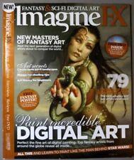 Imagine FX Magazine Jul 2016 Fantasy Card Art 188 Custom Brushes Mix 2d & 3d