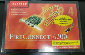 Adaptec FireConnect 4300 Complete New in box SEALED