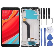 BLACK With Frame LCD Panel Screen Digitizer Full For Xiaomi Redmi S2