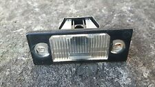 VW BORA NUMBER PLATE LIGHT UNIT AND BULB