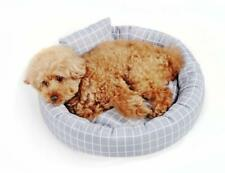 Pet Dog Cat Warm Plush Kennel Calming Bed Round Nest Comfy Sleeping Cave 2020 UK