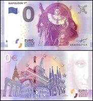 Zero - 0 Euro, 2017 - 1 - 1st Print, UNC, Napoleon 1st